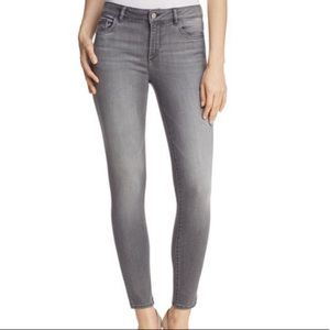 DL1961 Skinny Mid Rise Florence Grey Jean